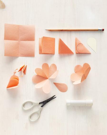 DIY 母親節 3D 會開花的立體花朵手工卡片教學 (1)