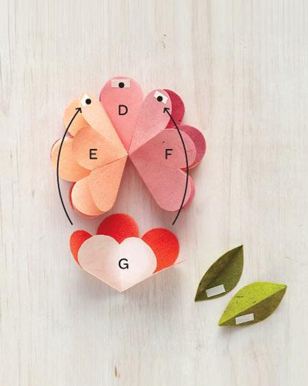 DIY 母親節 3D 會開花的立體花朵手工卡片教學 (2)