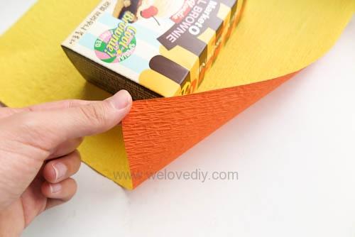 DIY 萬聖節南瓜造型禮物包裝教學 (3)