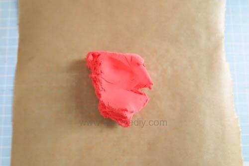 DIY 聖誕節親子手工黏土掛飾 (1)