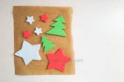 DIY 聖誕節親子手工黏土掛飾 (10)