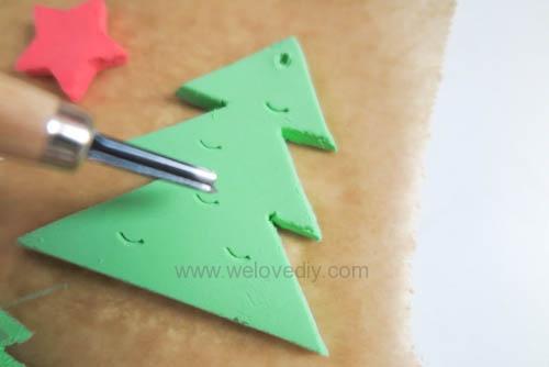 DIY 聖誕節親子手工黏土掛飾 (11)