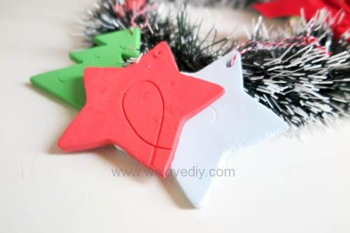 DIY 聖誕節親子手工黏土掛飾 (14)