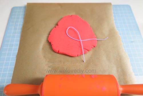 DIY 聖誕節親子手工黏土掛飾 (5)