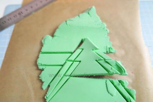 DIY 聖誕節親子手工黏土掛飾 (9)