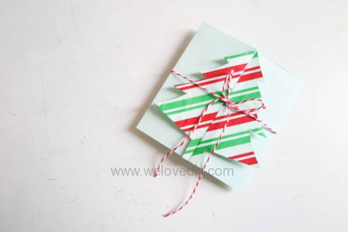 DIY Christmas Card 創意手工聖誕卡立體聖誕樹教學 (11)