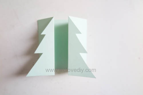 DIY Christmas Card 創意手工聖誕卡立體聖誕樹教學 (14)
