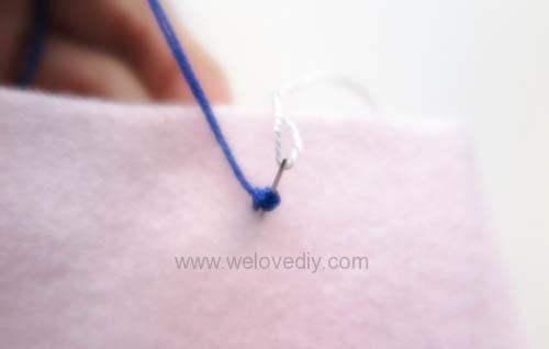 DIY French Knot 法式線結花芯刺繡針跡做法 (6)