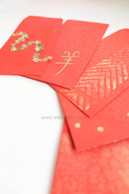 DIY red pocket 紅包設計
