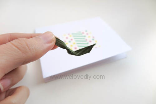 DIY 紙膠帶手工生日卡片 (3)