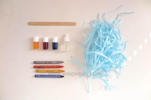 EASTER 復活節蠟筆染色彩蛋材料包發售