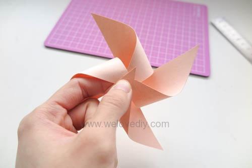 DIY 兒童節簡單親子手作紙風車 (11)