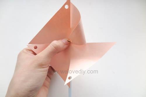 DIY 兒童節簡單親子手作紙風車 (14)