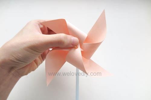 DIY 兒童節簡單親子手作紙風車 (15)