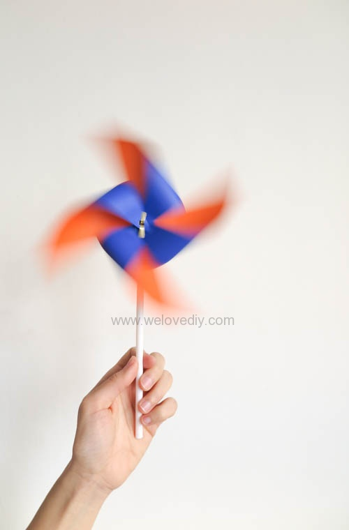 DIY 兒童節簡單親子手作紙風車 (21)