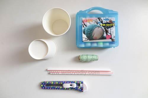 DIY 兒童節紙杯玩具傳聲筒 (2)