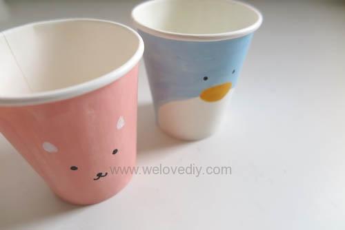 DIY 兒童節紙杯玩具傳聲筒 (4)