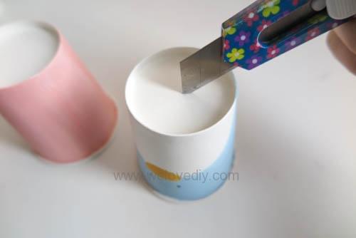 DIY 兒童節紙杯玩具傳聲筒 (5)