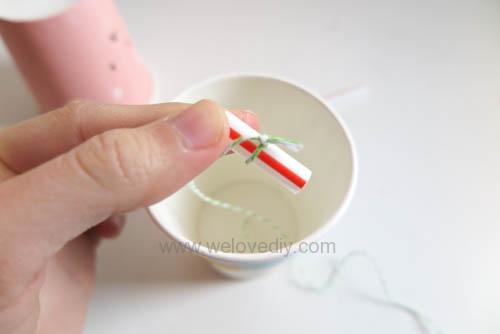 DIY 兒童節紙杯玩具傳聲筒 (9)