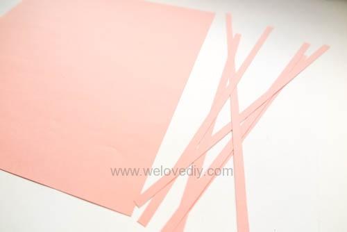 DIY 手工捲紙基礎技法教學 母親節卡片 情人節卡片 (1)