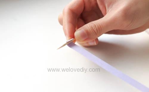 DIY 手工捲紙基礎技法教學 母親節卡片 情人節卡片 (2)