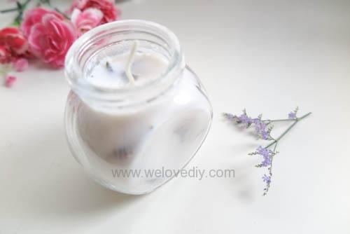 DIY 母親節手作禮物康乃馨花朵手工精油蠟燭 (11)