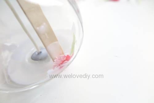 DIY 母親節手作禮物康乃馨花朵手工精油蠟燭 (7)