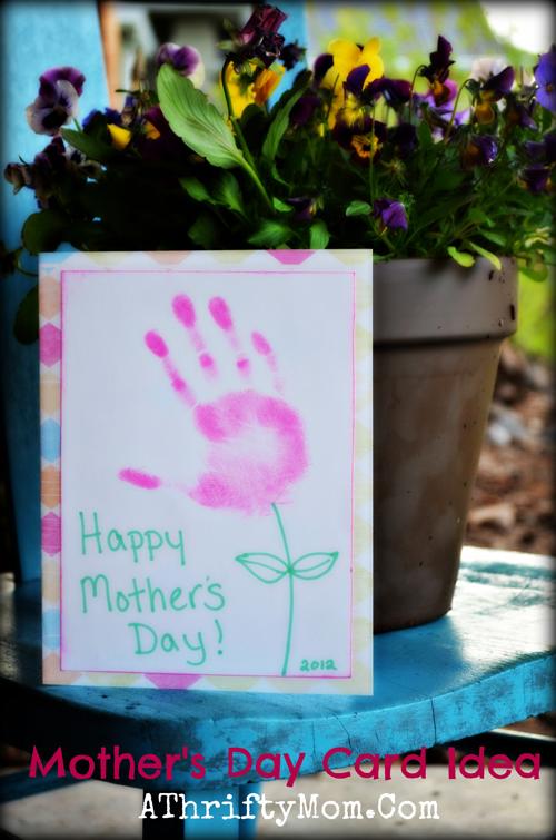 DIY 母親節親子手作小朋友手工手印手掌卡片 (4)