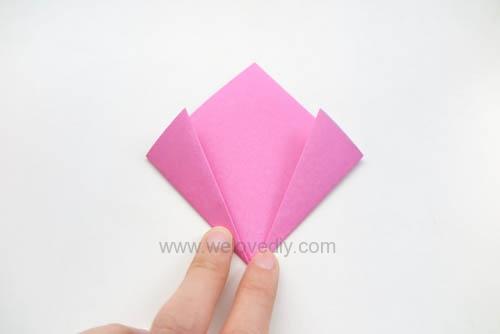 DIY 春天母親節手工紙做雛菊花束花朵 38 婦女節 (10)