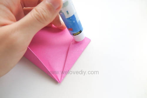 DIY 春天母親節手工紙做雛菊花束花朵 38 婦女節 (11)