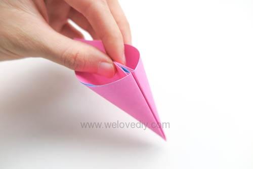 DIY 春天母親節手工紙做雛菊花束花朵 38 婦女節 (12)