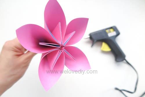 DIY 春天母親節手工紙做雛菊花束花朵 38 婦女節 (15)