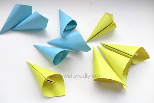 DIY 春天母親節手工紙做雛菊花束花朵 38 婦女節 (17)
