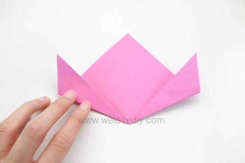 DIY 春天母親節手工紙做雛菊花束花朵 38 婦女節 (4)