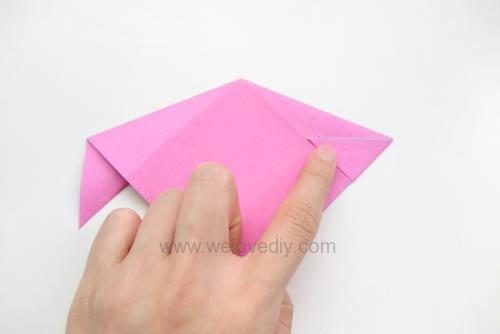 DIY 春天母親節手工紙做雛菊花束花朵 38 婦女節 (5)