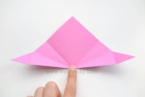 DIY 春天母親節手工紙做雛菊花束花朵 38 婦女節 (6)