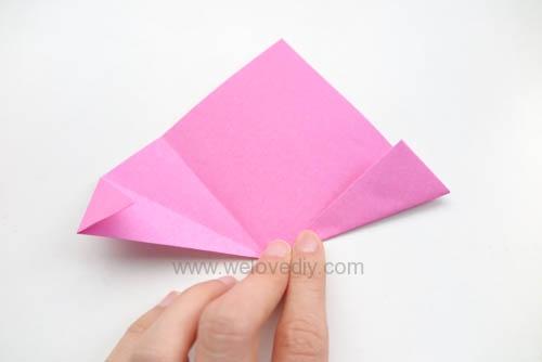 DIY 春天母親節手工紙做雛菊花束花朵 38 婦女節 (8)