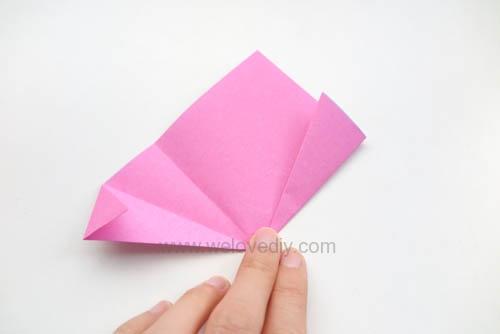 DIY 春天母親節手工紙做雛菊花束花朵 38 婦女節 (9)