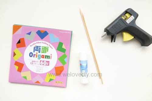 DIY 春天母親節手工紙做雛菊花束花朵 38 婦女節