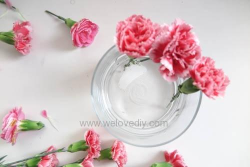 DIY 母親節康乃馨插花 (4)