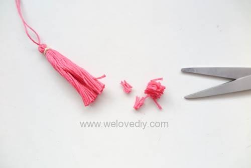 DIY 流蘇做法基礎手作教學 (12)