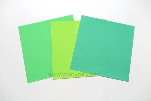 DIY 端午節手作三色摺紙粽子手工吊飾教學 (1)