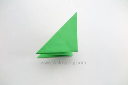DIY 端午節手作三色摺紙粽子手工吊飾教學 (10)