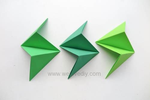 DIY 端午節手作三色摺紙粽子手工吊飾教學 (11)