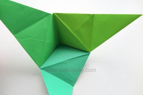 DIY 端午節手作三色摺紙粽子手工吊飾教學 (15)