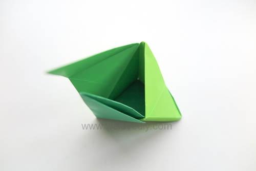 DIY 端午節手作三色摺紙粽子手工吊飾教學 (16)