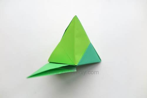 DIY 端午節手作三色摺紙粽子手工吊飾教學 (17)