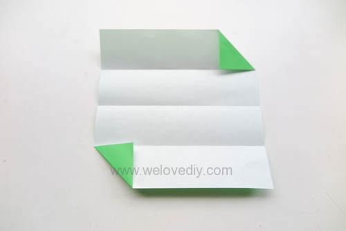 DIY 端午節手作三色摺紙粽子手工吊飾教學 (4)