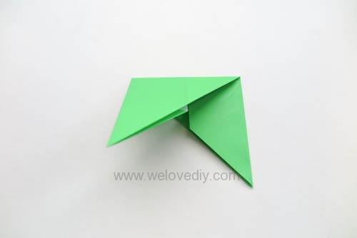 DIY 端午節手作三色摺紙粽子手工吊飾教學 (8)