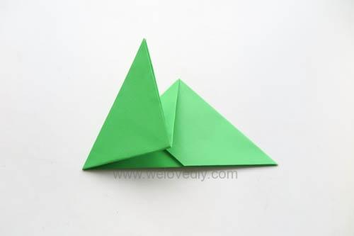 DIY 端午節手作三色摺紙粽子手工吊飾教學 (9)